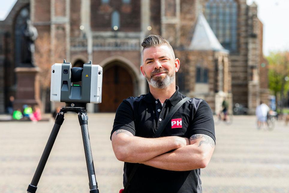 Kom jij ook werken bij PH Group? 3D Laserscan Operator Sander Geeraets vertelt over zijn werk