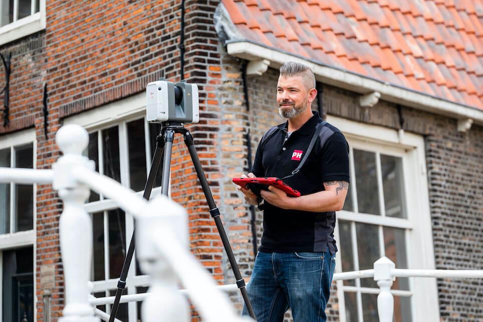 """Interview met 3D Laserscan Operator bij PelserHartman Sander Geeraets. """"Je komt op plekken waarvan je weet dat er geschiedenis is geschreven"""""""